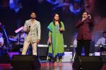Siddhant Bhosle, Arpita Thakkar and Sudesh Bhosale performing at  Amitabh aur Main tribute concert_561a1b514bfb2.jpg