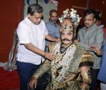 Surender Pal- Ravan Role Play in Luv Kush Ram Leela with Luv Kush President Ashok Aggarwal 1_561a1a565ad7d.jpg