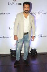 Ajaz Khan at the Six Months Completion Celebration of La Ruche, Bandra_561b607a66fd4.JPG
