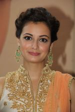 Dia Mirza at Jewellery exhibition on 10th Oct 2015