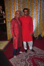 Naved Jaffrey at Ronit Roy_s bday and mata ki chowki on 10th Oct 2015 (49)_561b53d1dd599.JPG