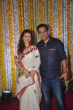 Prachi Shah at Ronit Roy_s bday and mata ki chowki on 10th Oct 2015 (22)_561b526aac4cc.JPG