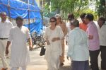 Ranjeet at Ravindra Jain funeral on 10th Oct 2015 (17)_561b50a2e56fe.JPG