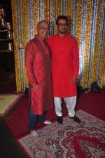 Sameer at Ronit Roy_s bday and mata ki chowki on 10th Oct 2015 (48)_561b538568a72.JPG