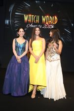 Yami Gautam, Nimrat Kaur, Pallavi Sharda at Watch world Awards on 11th Oct 2015