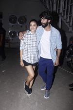 Alia Bhatt, Shahid Kapoor snapped at Mehboob on 13th Oct 2015