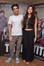 Shivani Raghuvanshi, Shashank Arora at Titli film iterviews in Yashraj on 13th Oct 2015