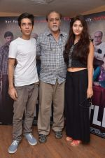 Shivani Raghuvanshi, Shashank Arora,  Lalit Behl at Titli film iterviews in Yashraj on 13th Oct 2015