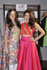 Bhagyashree at Amy Billimoria festive collection launch in Juhu on 14th Oct 2015