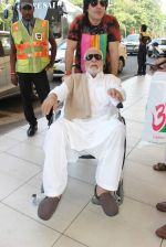 Kader Khan snapped at airport on 14th Oct 2015 (9)_561fc15a3ff1b.JPG