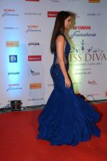 Lara Dutta at Miss Diva red carpet in Sahara Star on 14th Oct 2015