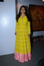 Juhi Chawla at JP Singhal exhibition on 15th Oct 2015