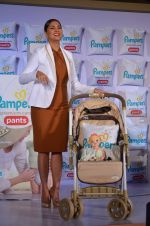 Lara Dutta promotes pampers diapers on 15th Oct 2015