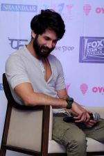Shahid Kapoor at Delhi for promotions of Shaandaar on 15th Oct 2015