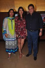 Anu Ranjan, Anushka Ranjan, Sashi Ranjan at Wedding Pulav premiere on 16th Oct 2015