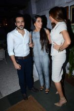Emraan Hashmi, Tara Sharma, Sushmita Sen at Rouble Nagi exhibition on 17th Oct 2015