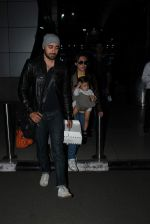 Imran Khan, Avantika Malik snapped at airport on 16th Oct 2015 (23)_562366057c24d.JPG