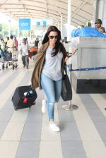 Neha Dhupia snapped at airport on 17th Oct 2015