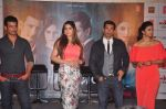 Zarine Khan, Karan Singh Grover, Daisy Shah, Sharman Joshi at Trailer launch of film Hate Story 3 on 16th Oct 2015