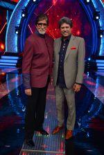 Amitabh Bachchan and Kapil Dev in Aaj Ki Raat Hai Zindagi_5625e7d648437.jpg
