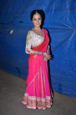 Anita Hassanandani at Life OK Prem Ki Diwali Shoot in Mumbai on 19th Oct 2015