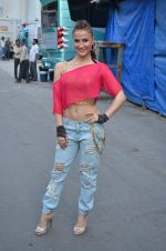 Elli Avram at Life OK Prem Ki Diwali Shoot in Mumbai on 19th Oct 2015