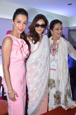 Malaika Arora Khan, Lisa Ray at Life OK Prem Ki Diwali Shoot in Mumbai on 19th Oct 2015