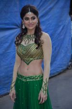 Shamita Shetty at Life OK Prem Ki Diwali Shoot in Mumbai on 19th Oct 2015