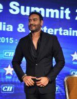 Ajay Devgan at CII meet in Delhi on 20th Oct 2015 (14)_562741d751966.jpg