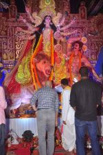 Anupam Kher at Durga Pooja Pandal on 20th Oct 2015