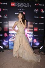 Anusha Dandekar at India Beach Fashion Week preview on 20th Oct 2015