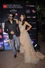 Anusha Dandekar, Rocky S at India Beach Fashion Week preview on 20th Oct 2015