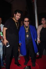 Bappa Lahiri, Bappi Lahiri at Durga Pooja Pandal on 20th Oct 2015