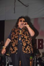 Bappi Lahiri at Durga Pooja Pandal on 20th Oct 2015