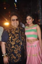 Bappi Lahiri, Tulsi Kumar at Durga Pooja Pandal on 20th Oct 2015