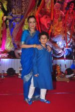 Madhurima Nigam at Durga Pooja Pandal on 20th Oct 2015