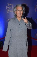 Anil Dharkar at Beauty and the Beast red carpet in Mumbai on 21st Oct 2015