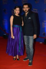 Dia Mirza, Sahil Sangha at Beauty and the Beast red carpet in Mumbai on 21st Oct 2015 (267)_5628c69c3a0ea.JPG