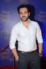 Emraan Hashmi at Beauty and the Beast red carpet in Mumbai on 21st Oct 2015