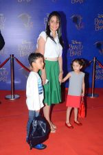 Manyata Dutt at Beauty and the Beast red carpet in Mumbai on 21st Oct 2015