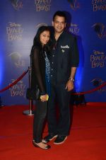 Nachiket Barve at Beauty and the Beast red carpet in Mumbai on 21st Oct 2015