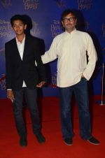 Rakesh Mehra at Beauty and the Beast red carpet in Mumbai on 21st Oct 2015