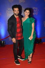 Rithvik Dhanjani, Riddhi Dogra at Beauty and the Beast red carpet in Mumbai on 21st Oct 2015