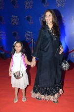 Shobha De at Beauty and the Beast red carpet in Mumbai on 21st Oct 2015
