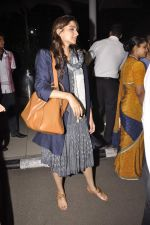 Sonam Kapoor snapped at Airport on 21st Oct 2015