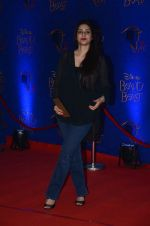 Tabu at Beauty and the Beast red carpet in Mumbai on 21st Oct 2015