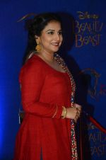 Vidya Balan at Beauty and the Beast red carpet in Mumbai on 21st Oct 2015