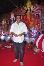 Anurag Basu at North Bombay Sarbojanin Durga Puja 2015 on 22nd Oct 2015