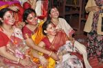Sumona Chakravarti at North Bombay Sarbojanin Durga Puja 2015 on 22nd Oct 2015