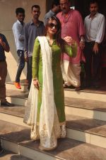 Tanisha Mukherjee at North Bombay Sarbojanin Durga Puja 2015 on 22nd Oct 2015